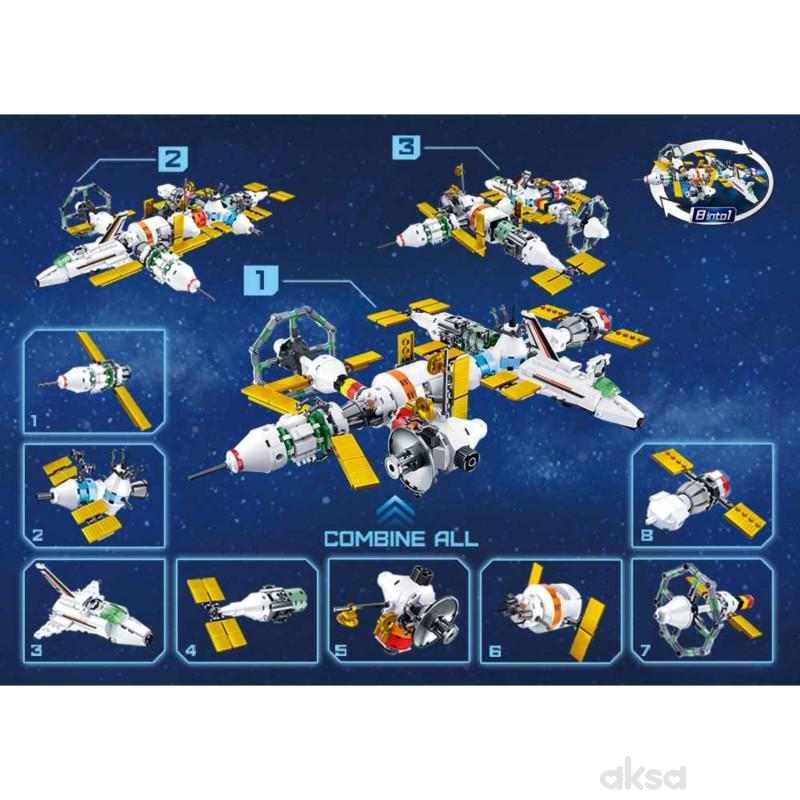 Sluban kocke, svemirska stanica - paket, 511 kom