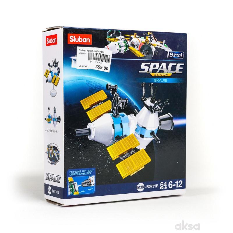 Sluban kocke, svemirska laboratorija, 64 kom