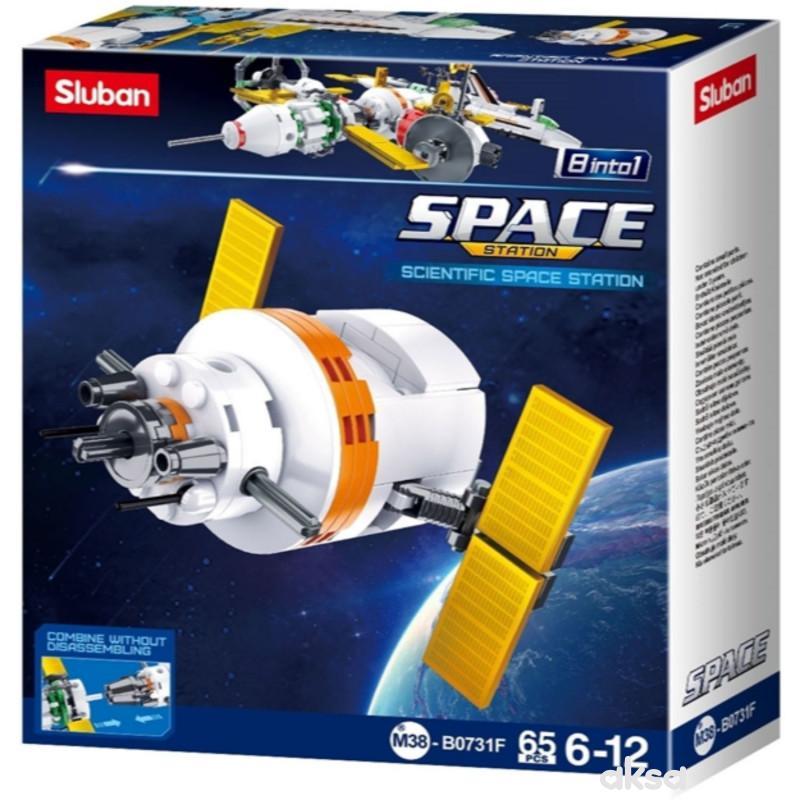 Sluban kocke, naučna svemirska stanica, 65 kom