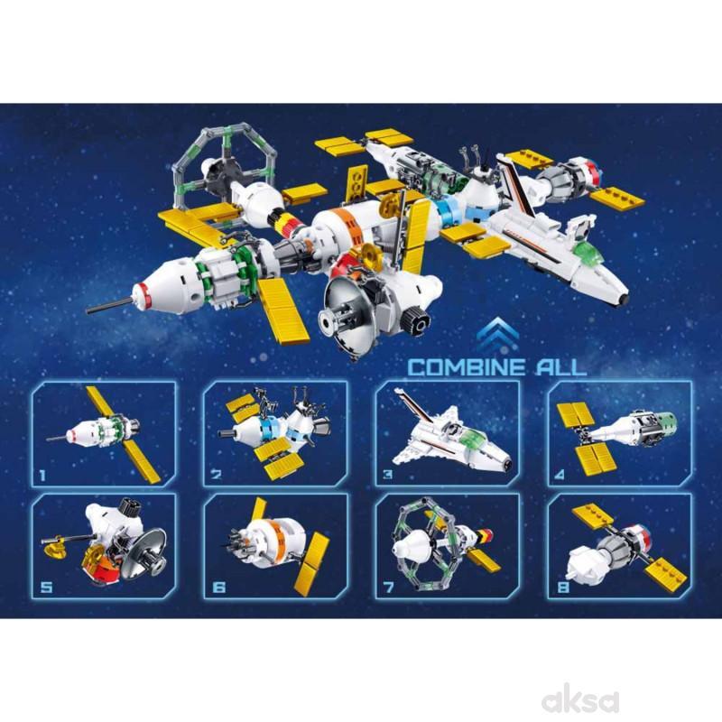 Sluban kocke, svemirska stanica, 512 kom