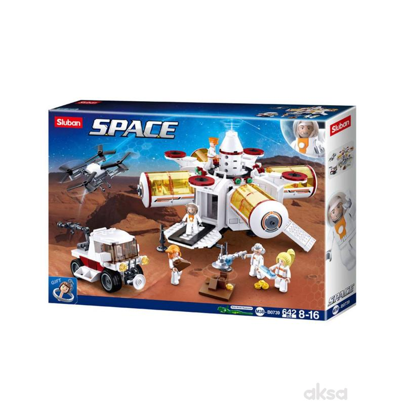 Sluban kocke, svemirska baza, 642 kom