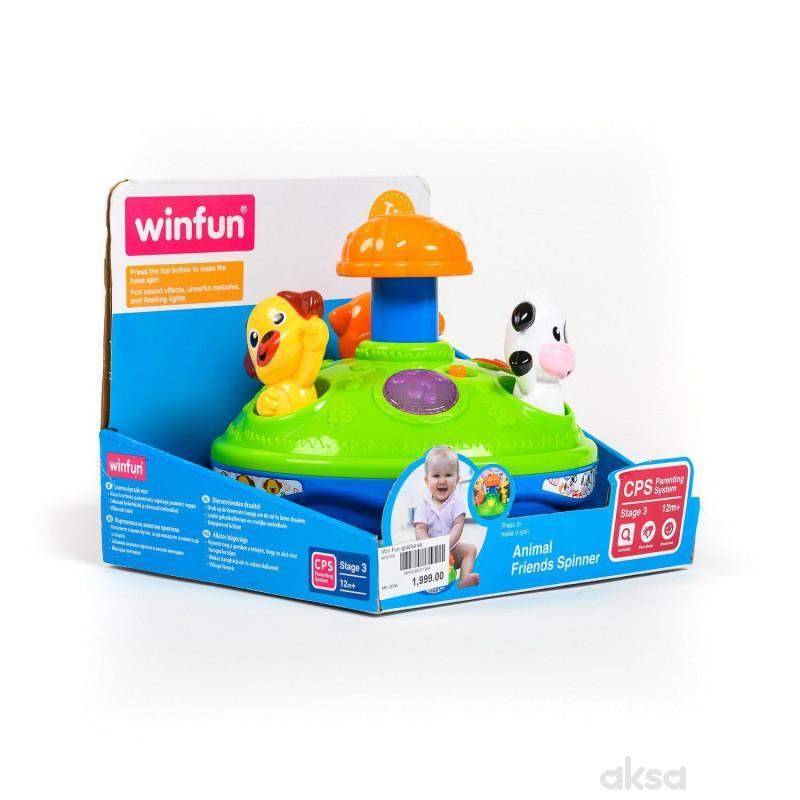 Win Fun igračka sa životinjama i muzikom