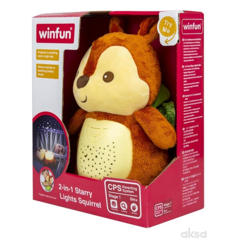 Win Fun 2-u-1 projektor veverica