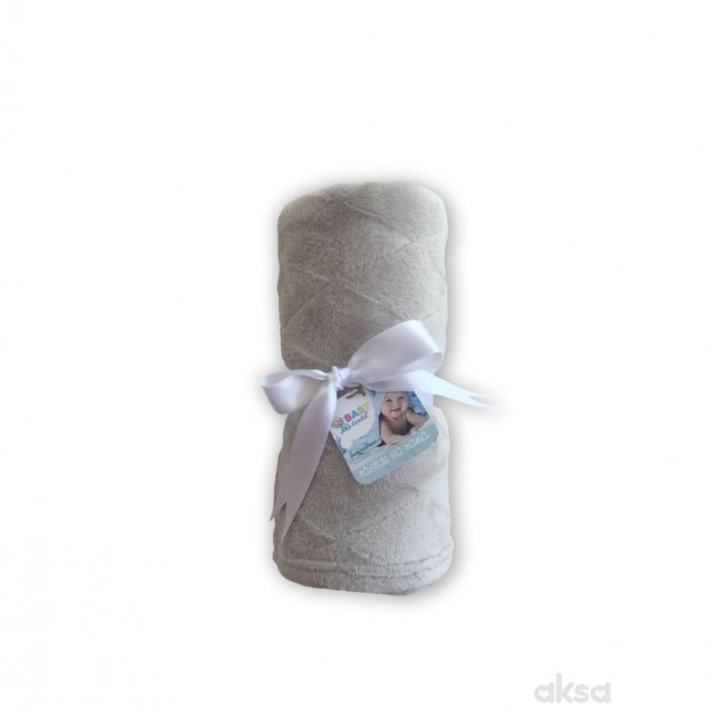 Baby Textil ćebe Klara,80x90,siva