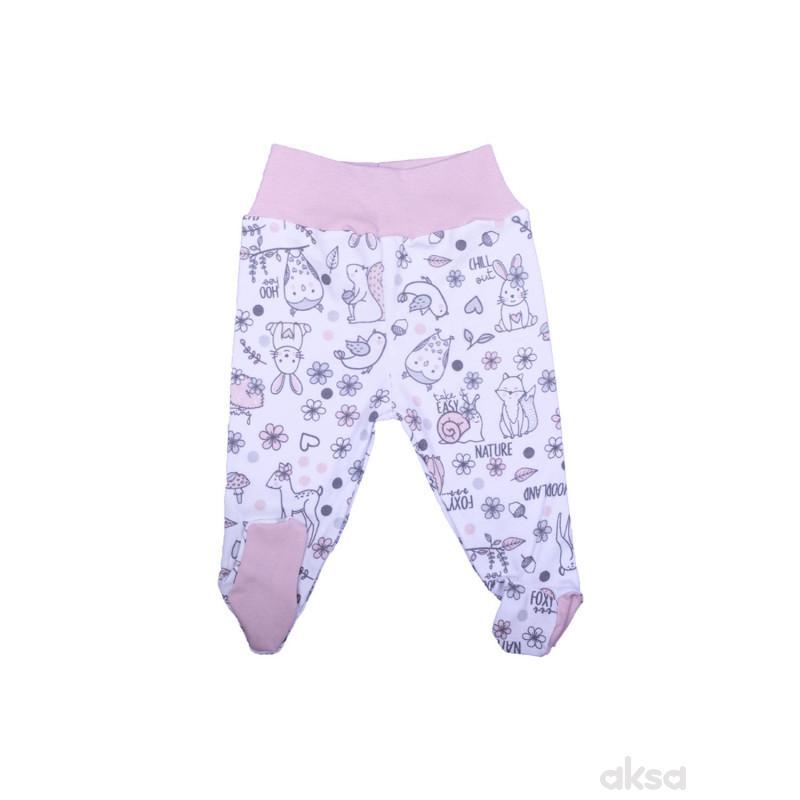 MyBaby pantalone sa stopicama,devojčice