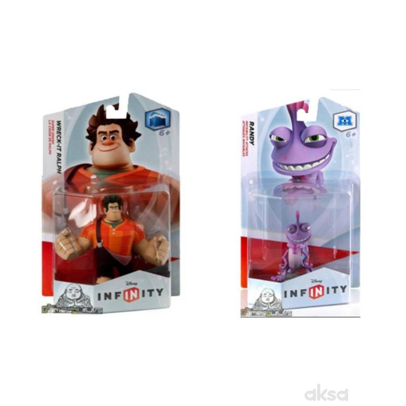 Infinity Figure Ralph + Infinity Figure Randy