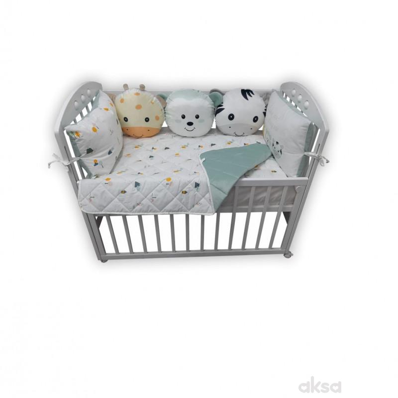 Lillo&Pippo punjena posteljina Animals