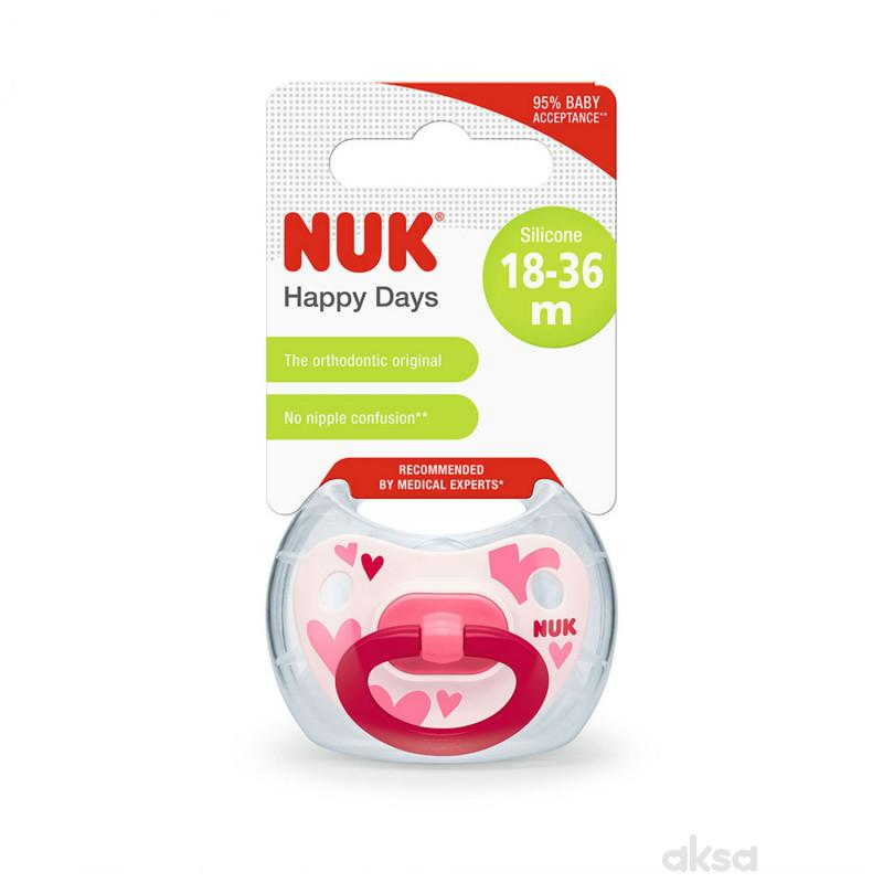 Nuka laža silikon happy kids vel3
