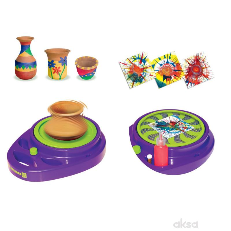 Creative Toys točak i umetnički studio za prskanje