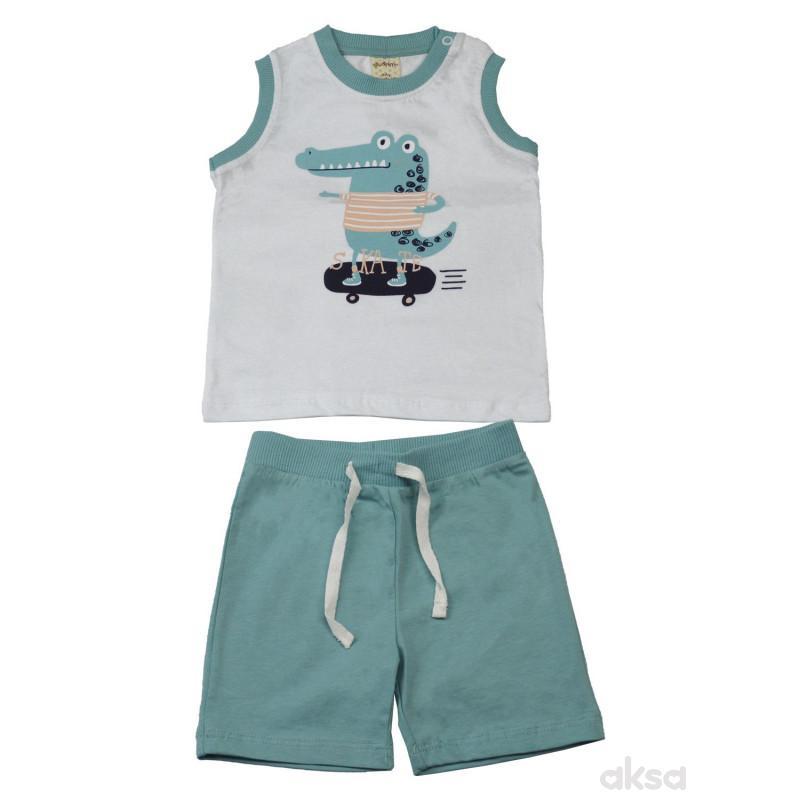 Lillo&Pippo komplet(majica  i šorts),dečaci