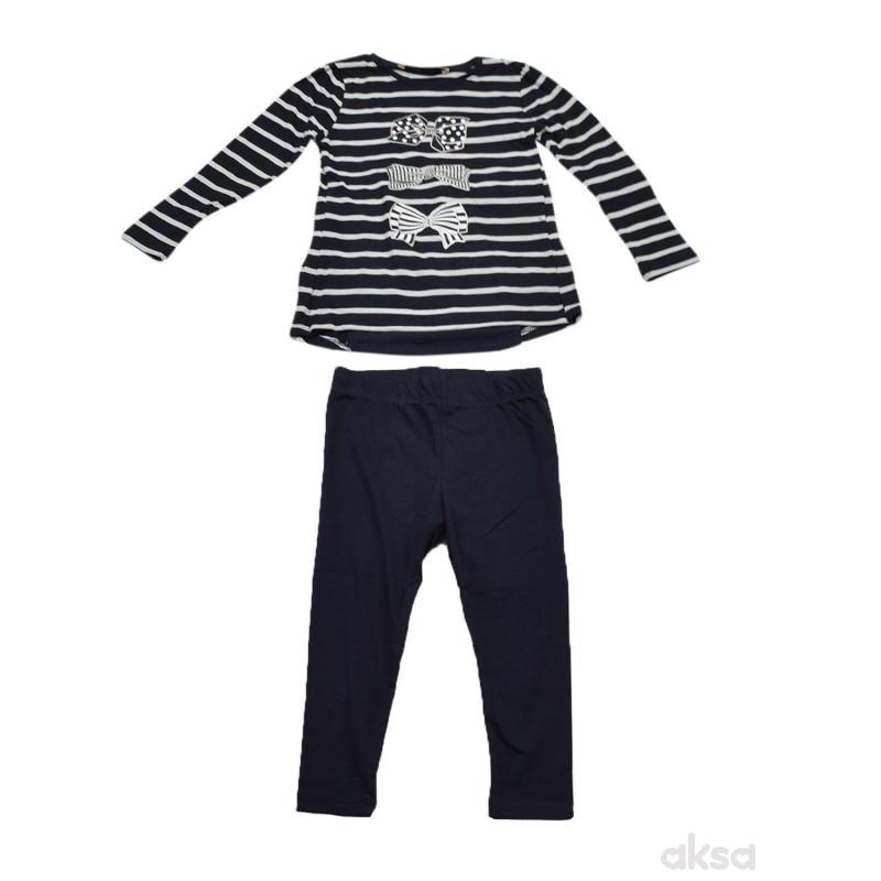 Lillo&Pippo komlet(majica,helanke)devojčice