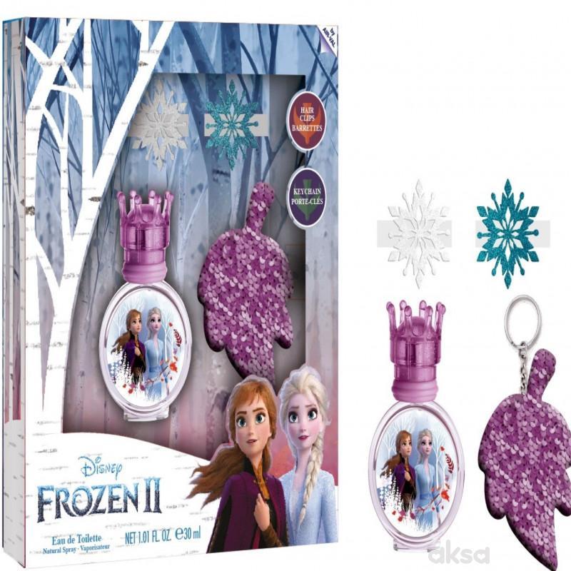 Frozen set edt 30ml + 2 šnale + privezak za ključ.