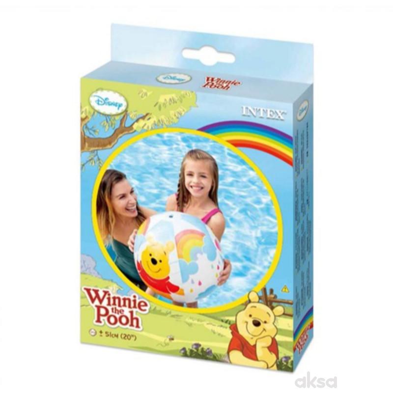 Intex lopta Winnie the Pooh dimenzije 51 cm
