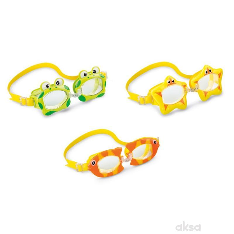 Intex naočare za kupanje u obliku životinjica