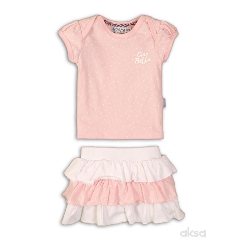 Dirkje komplet(majica kr,suknja),devojčice