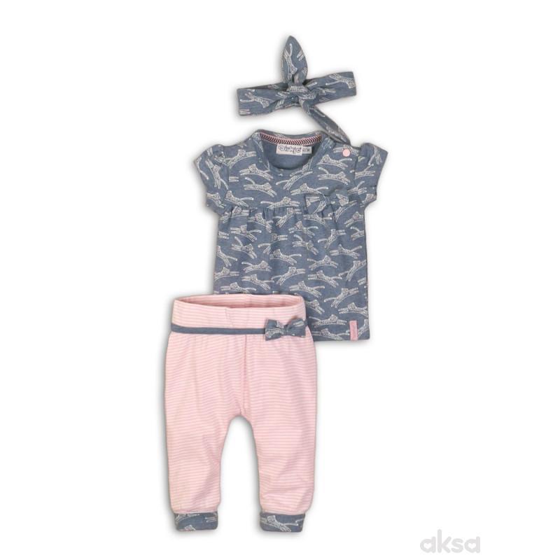 Dirkje komplet(majica,pantalone, traka),devojčice