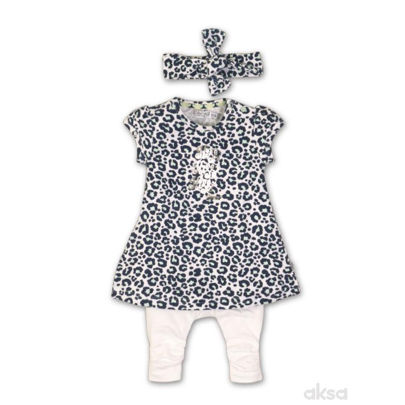 Dirkje komplet(haljina,helanke,traka),devojčice