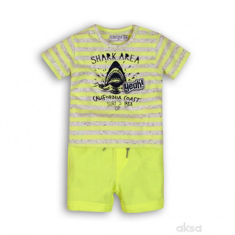 Dirkje komplet (majica kr, šorc),dečaci