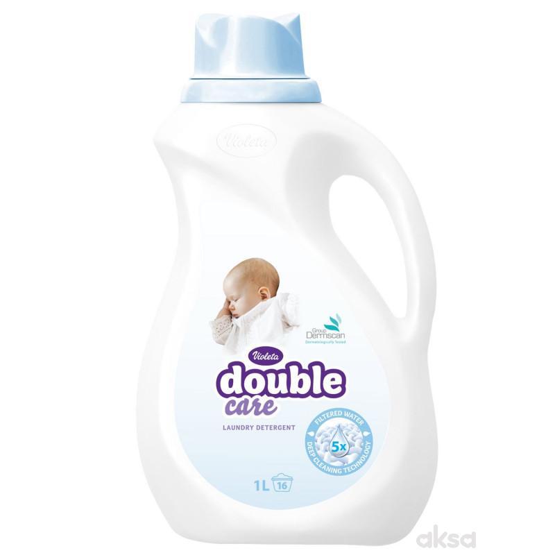 Violeta double care deteržent za dečiji veš 1l