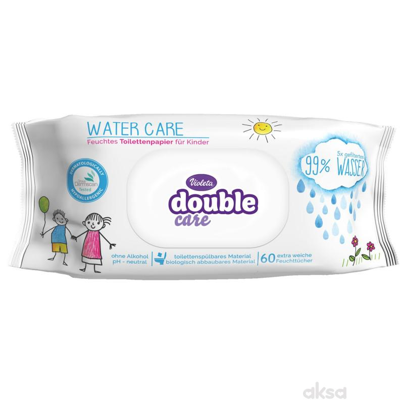 Violeta vlažni toalet papri double care 60kom