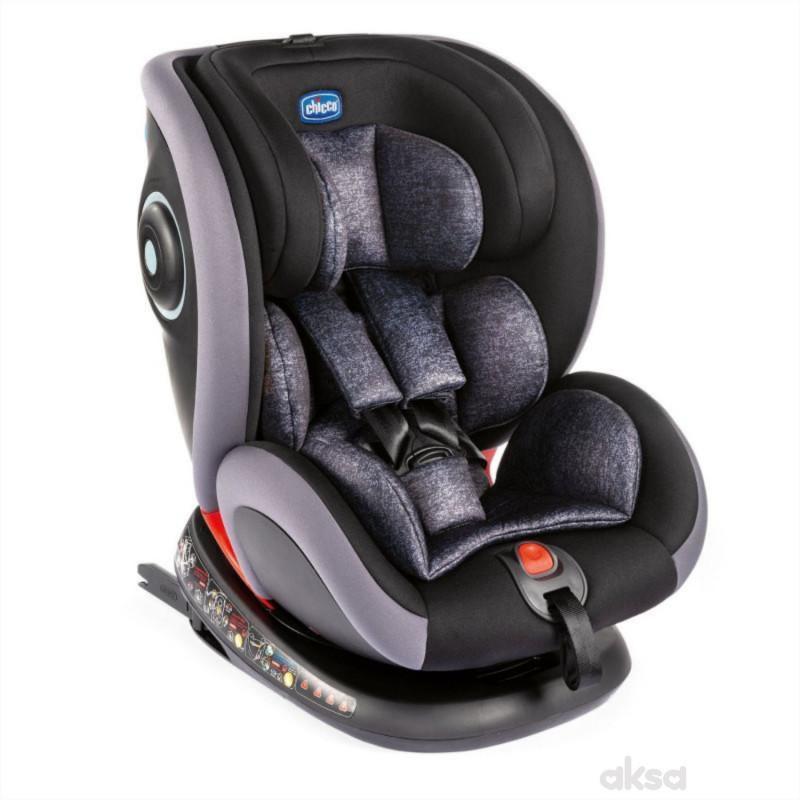 Chicco a-s Seat4fix (0-36kg) 0/1/2/3 Graphite