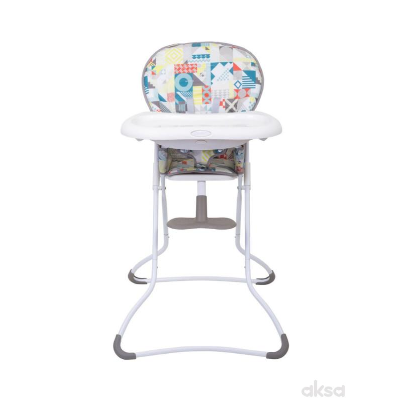 Graco hranilica Snack n Stow, Patchwork