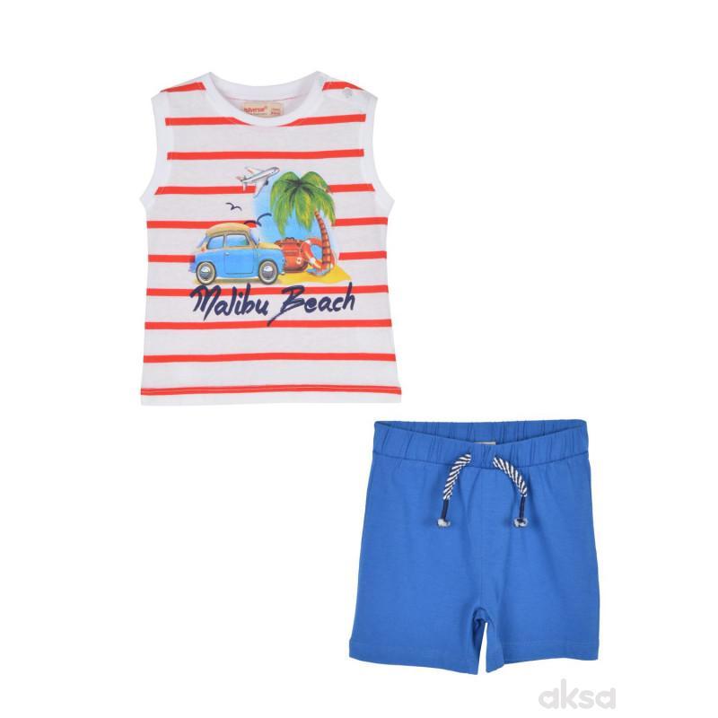 SilverSun komplet (majica,atlet i šorc),dečaci