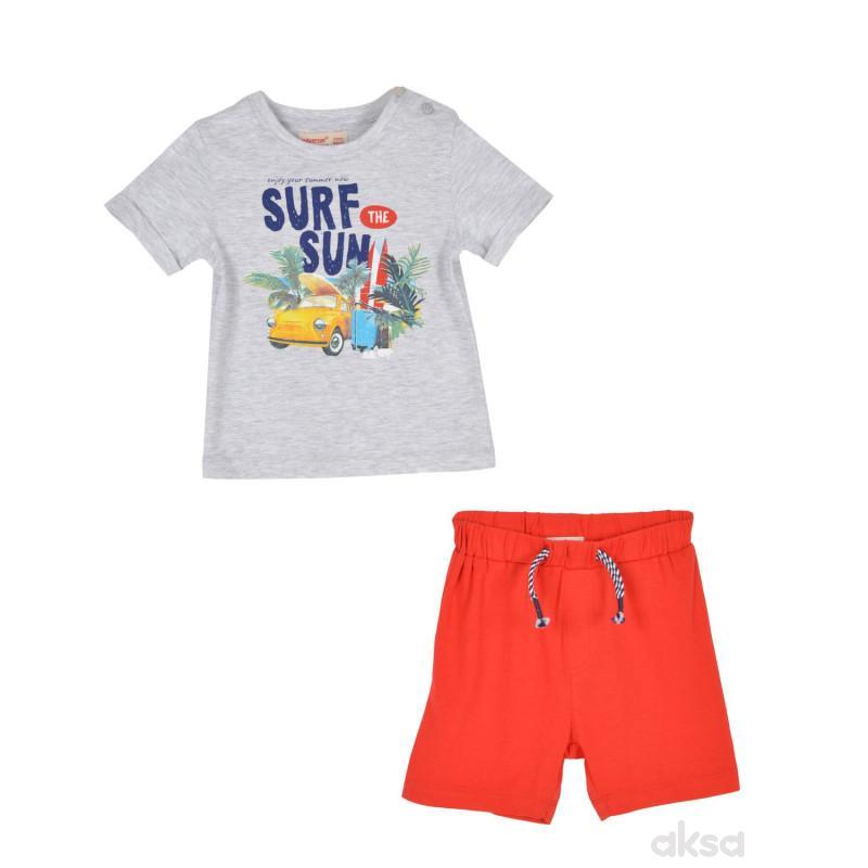 SilverSun komplet (majica,kr i šorc),dečaci