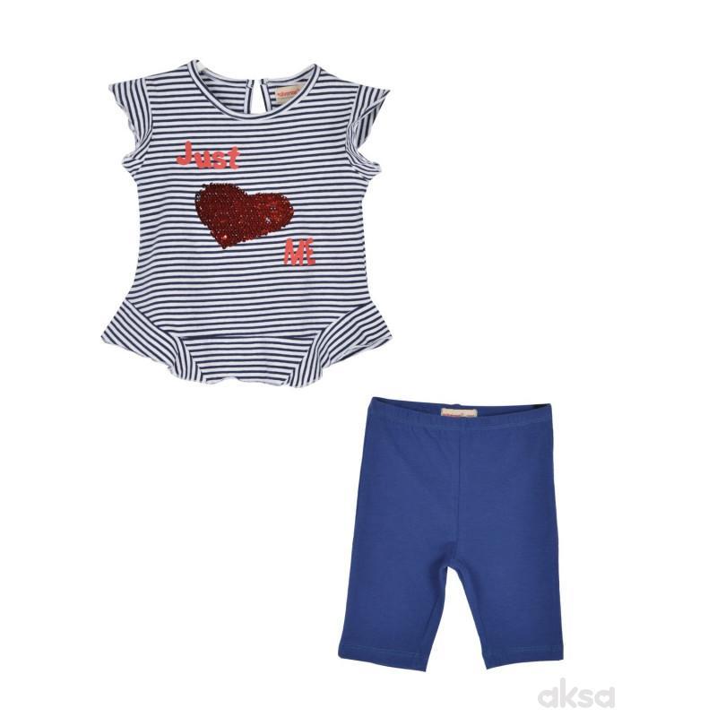 SilverSun komplet (majica,kr i pantal.),devojčice