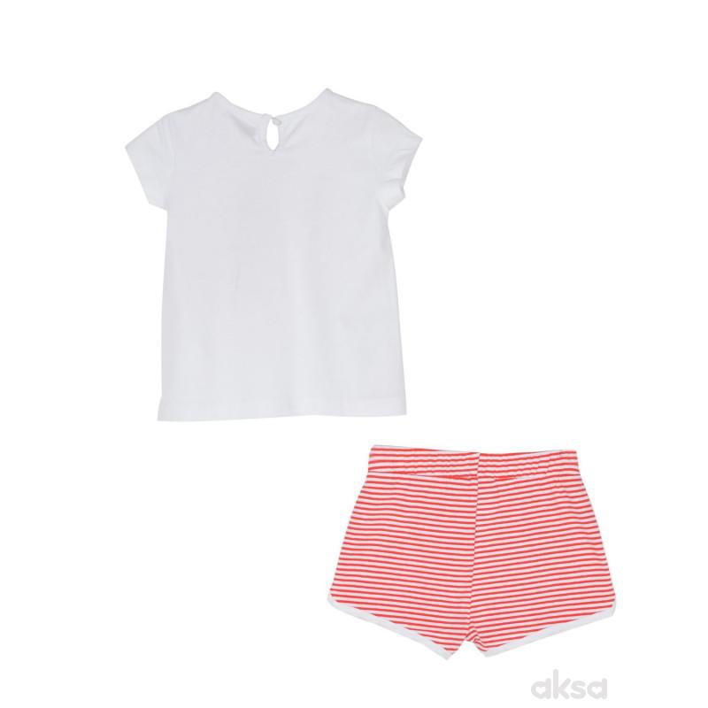 SilverSun komplet (majica,kr i šorc),devojčice