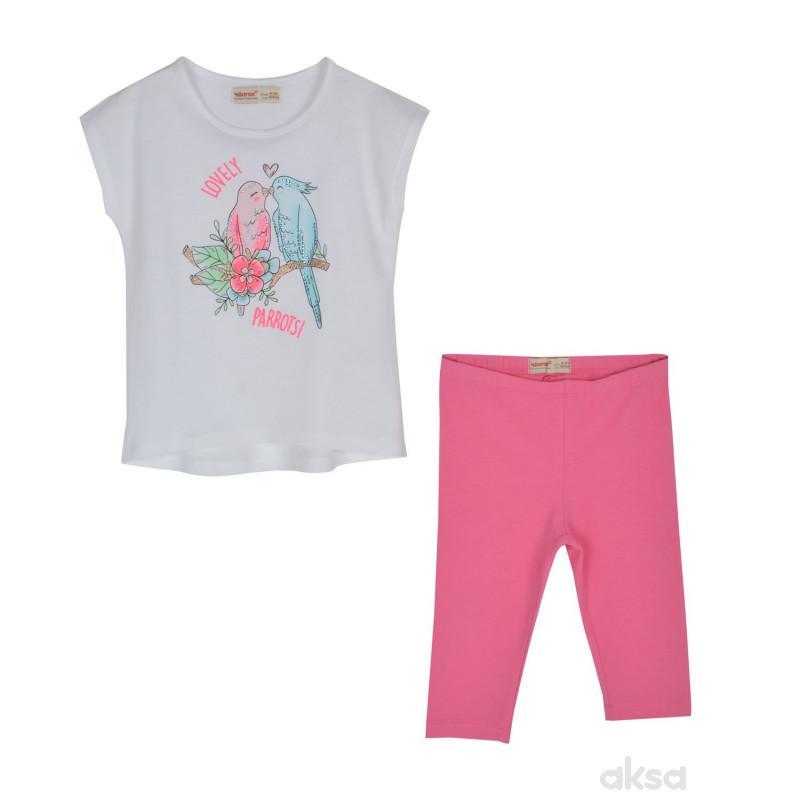 SilverSun komplet (majica,kr i helanke),devojčice