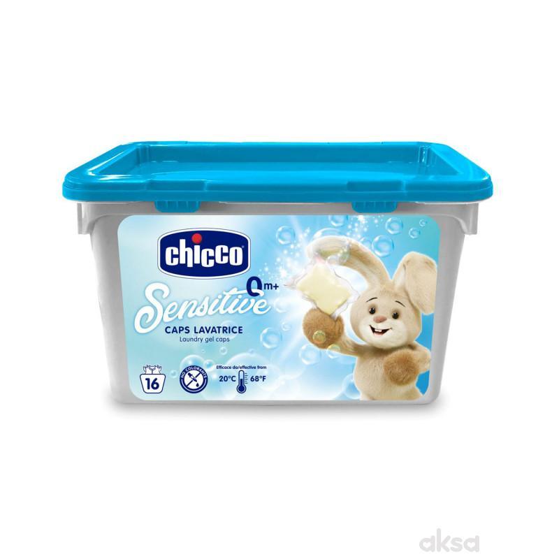 Chicco sensitive kapsule za pranje veša 16/1