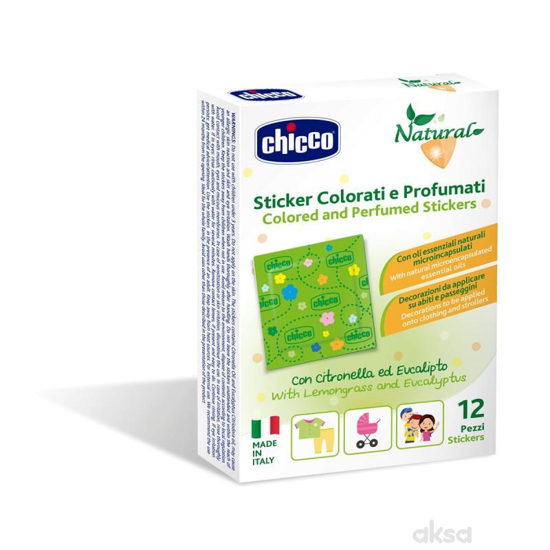 Chicco zanza parfemisani stikeri 12 kom