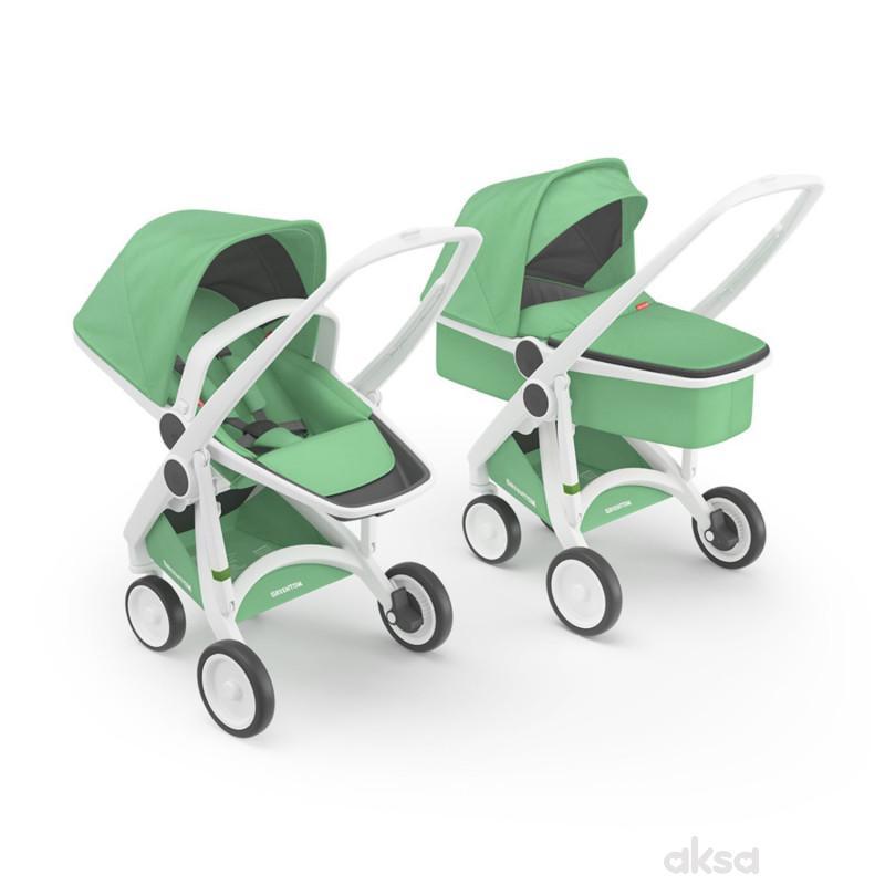 Greentom duo sistem Mint (kolica + nosiljka)