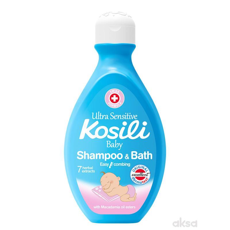 Kosili baby šampon i kupka plava 400ml
