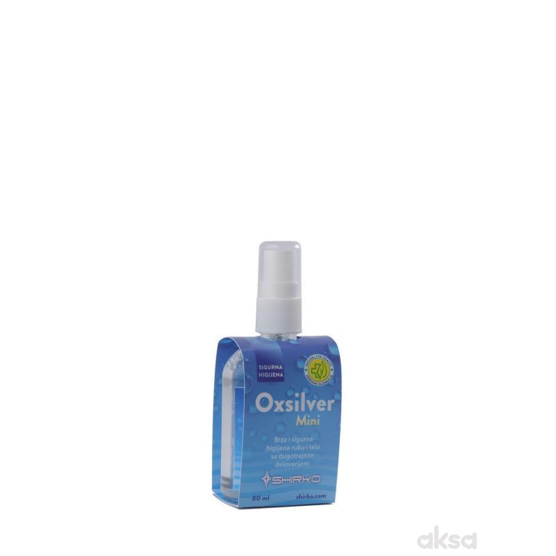Shirko tečnost za dezinfekciju Oxilsver mini, 80ml