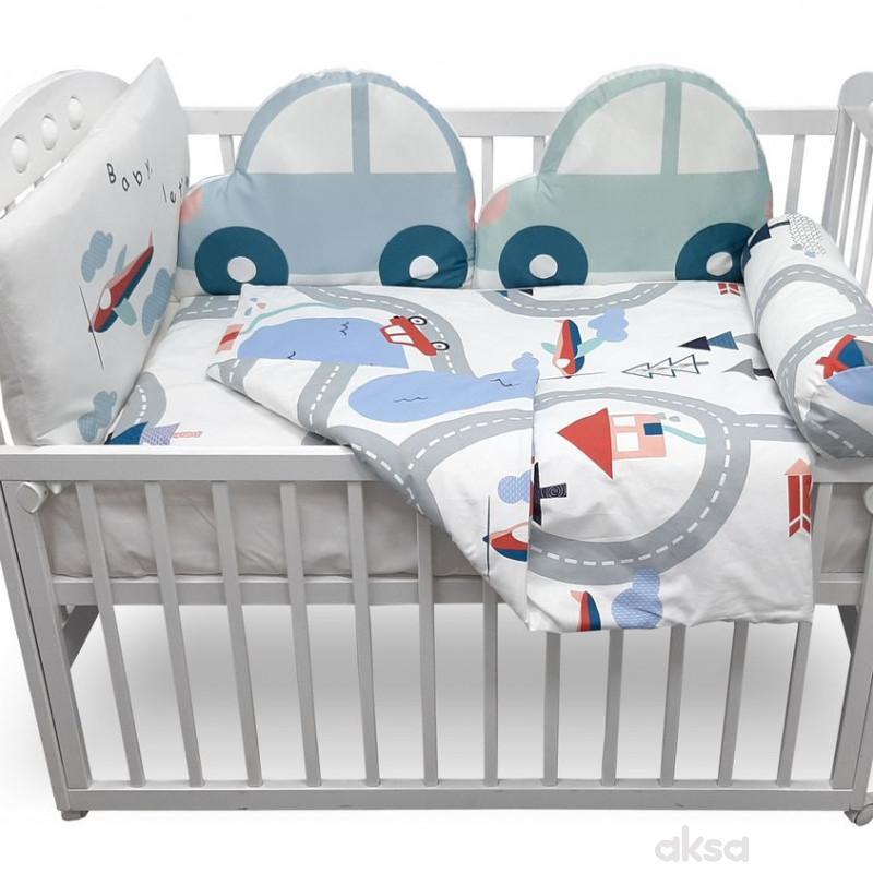 Baby Textil punjena posteljina Autić