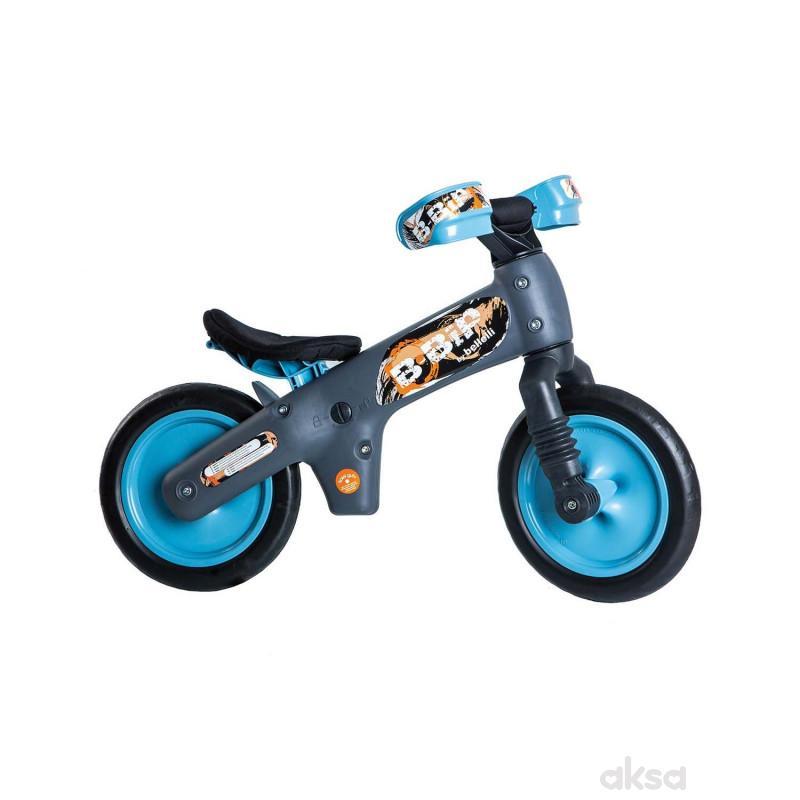 Bicikl guralica Bellelli PVC black-blue