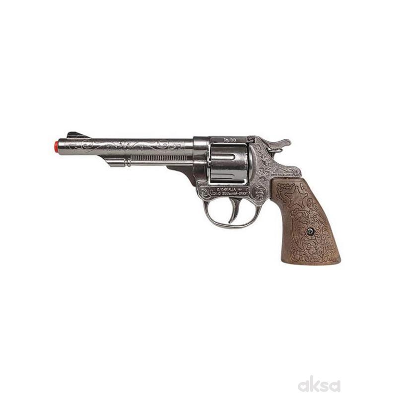 Igračka za decu kaubojski revolver 8