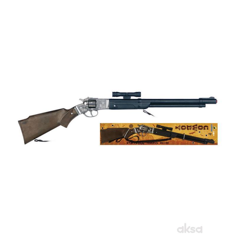 Igračka za decu kaubojska puška 8