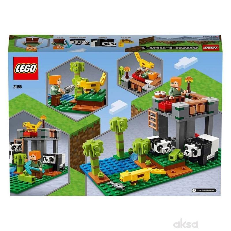Lego Minecraft the panda nursery