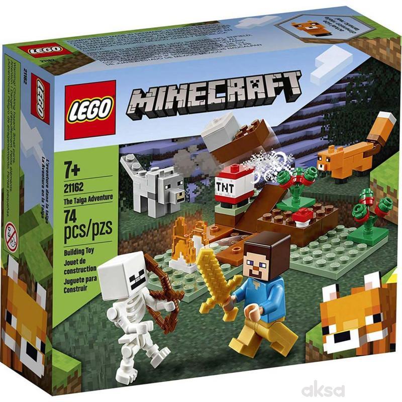 Lego Minecraft the taiga adventure