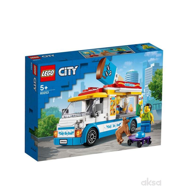 Lego City ice-cream truck