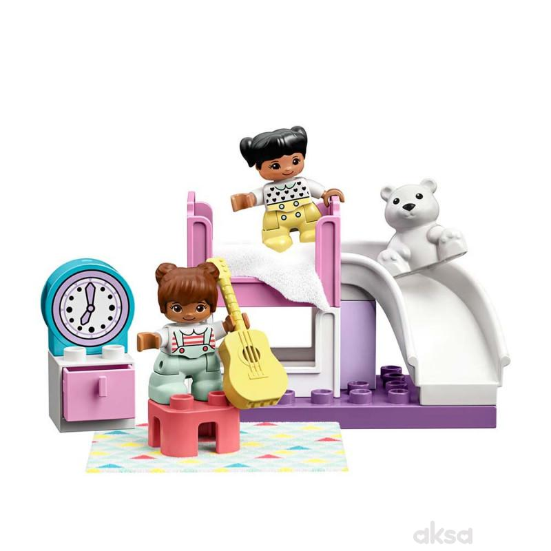 Lego Duplo town bedroom