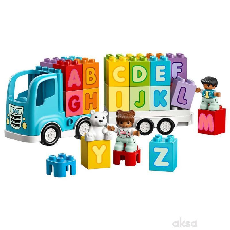 Lego Duplo alphabet truck