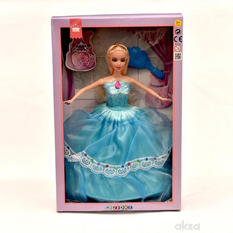 Cigioki lutka princeza 30cm