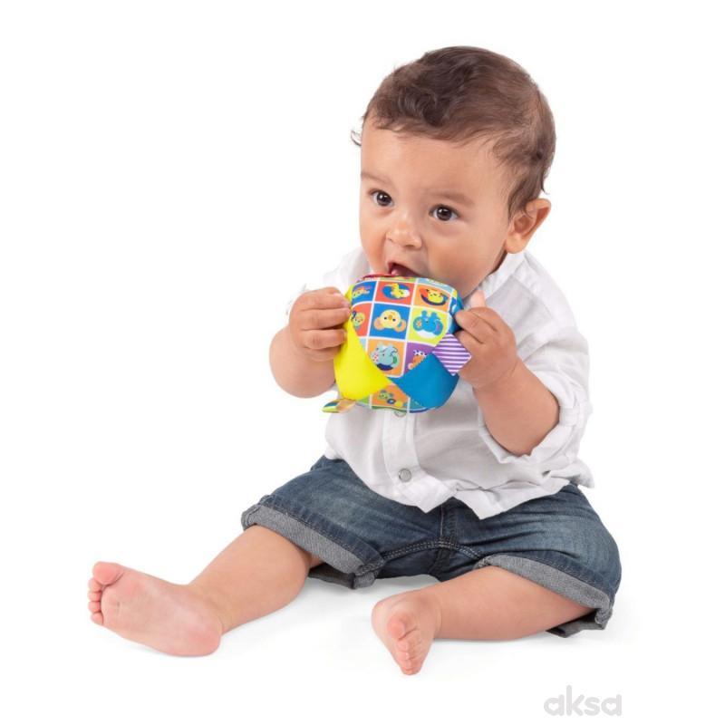 Chicco igračka mekana plišana lopta