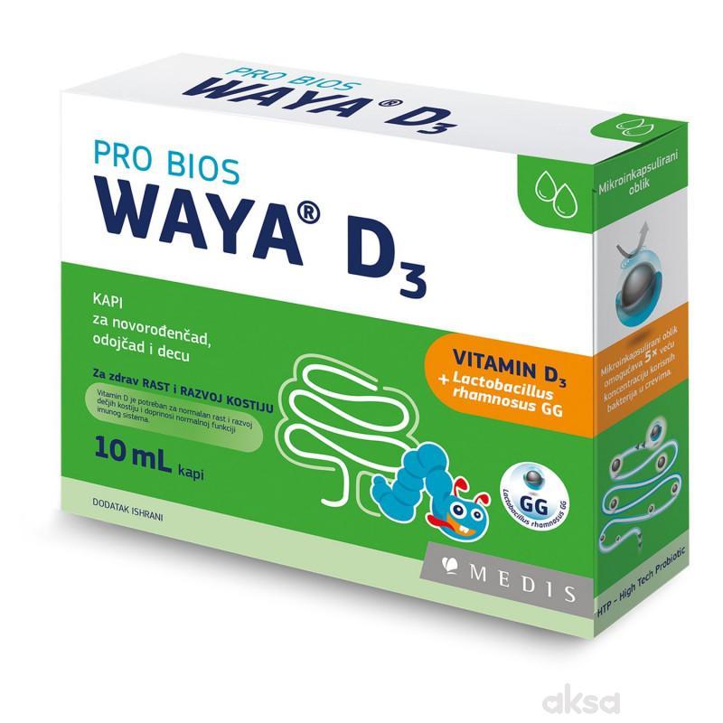 Waya D3 10 ml probiotične kapi
