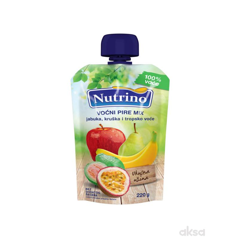 Nutrino pouch jabuka, kruška, tropsko voće 220g
