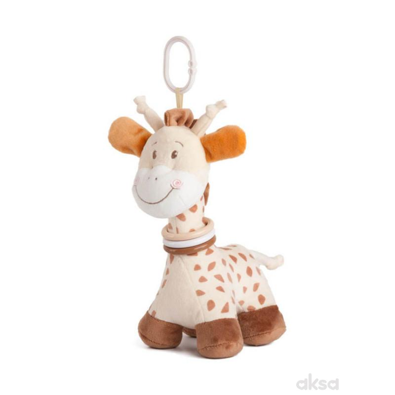 Plišana žirafa stojeća 23cm